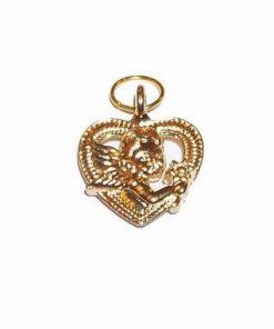 Talisman cu Ingerul Dragostei - auriu