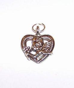 Talisman cu Ingerul Dragostei - argintiu