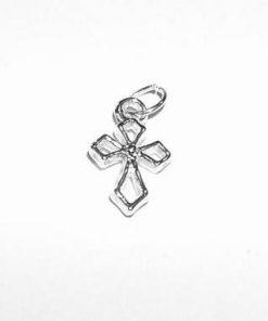 Cruciulita argintata - pandantiv de protectie