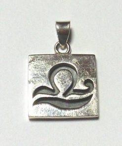 Talisman din argint cu zodia Balanta