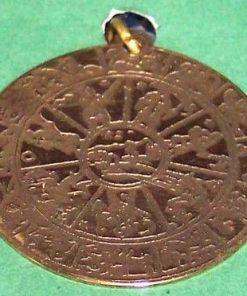 Amuleta celor 7 planete si celor 12 zodii - unicata!