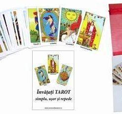 Tarot Rider Waite in limba romana - 78 carti - set  extins
